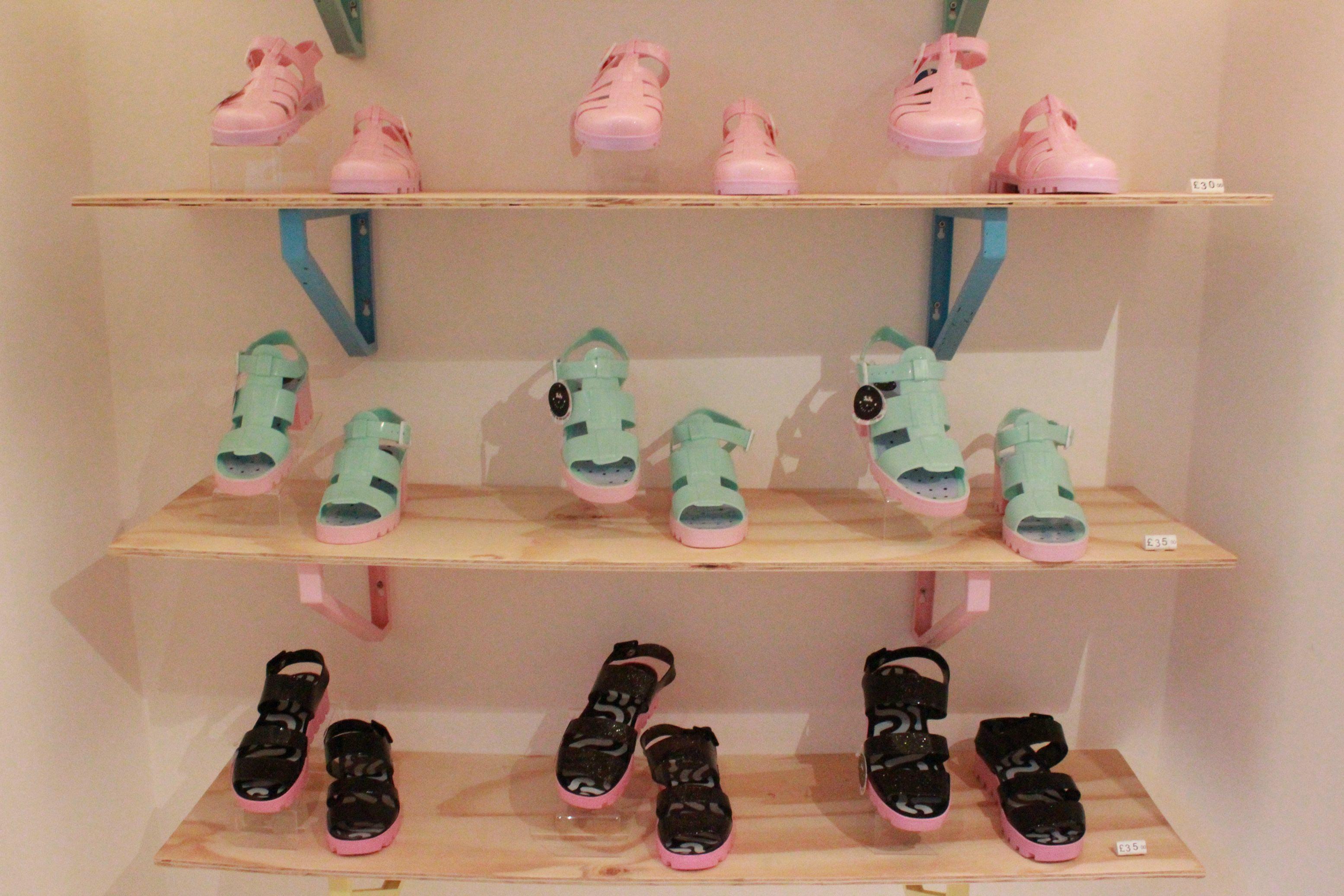 #jujuxlazyoaf Juju footwear and Lazy oaf collaboration