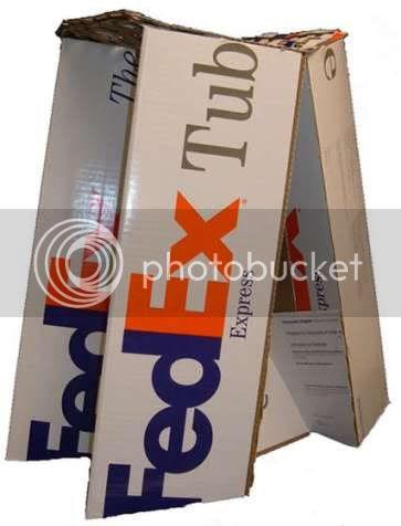 FedEx Tubes Stool