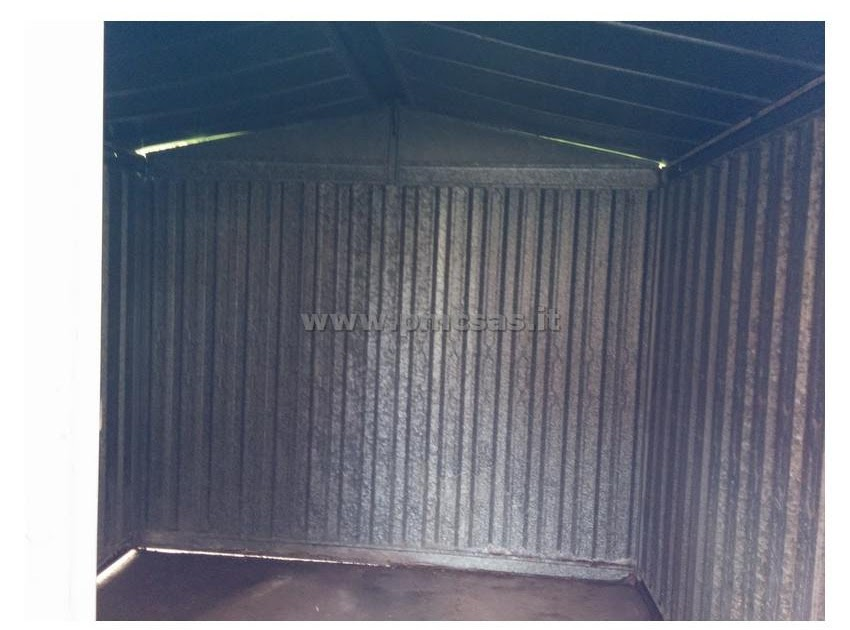 Mobili lavelli box lamiera zincata usato for Box garage lamiera