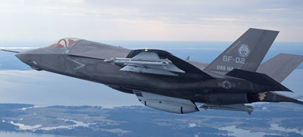 The U.S. Marine Corps version of Lockheed Martin's F-35 Joint Strike Fighter. (photo: Reuters)
