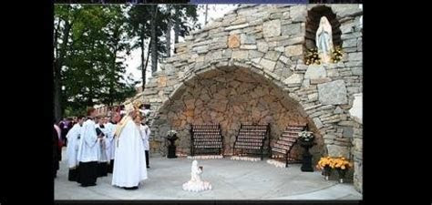 Story of the Grotto   Benedictine College