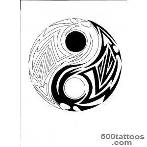 Yin Yang Tattoo Designs Ideas Meanings Images
