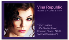 BCS-1057 - salon business card