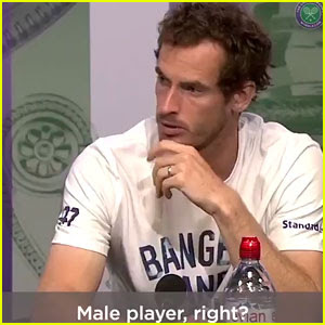 Twitter Reacts to Tennis Star Andy Murray Calling Out Casual Sexism