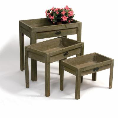 Buildportable Potting Benchgarden Cartdanny Lipford Contemporary Dining Tables