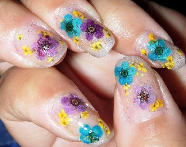 11_glitter dried flowers