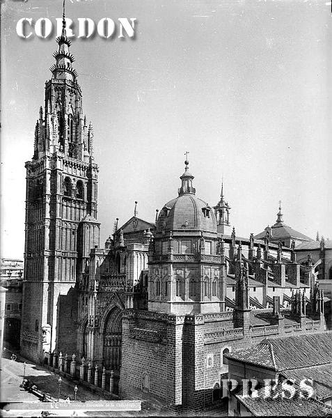 Catedral de Toledo hacia 1875-80. © Léon et Lévy / Cordon Press - Roger-Viollet