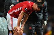 Cedera Lutut Kambuh, Ibrahimovic Kembali Absen Bela Manchester United