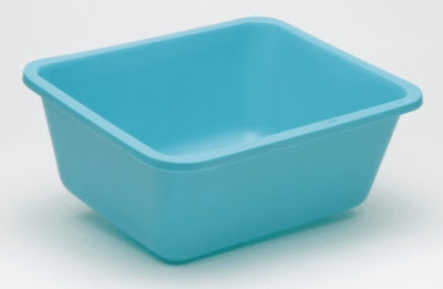 Medegen Medical Products Wash Basin Foot Tub Rectangular