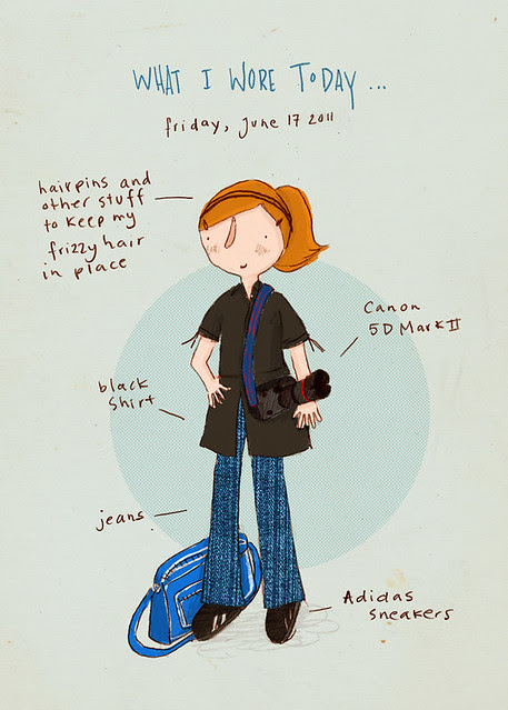 What I wore today: June 17, 2011