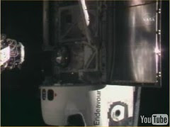 STS-118 Endeavour Docking Video Frame