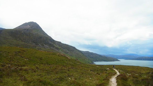 HB on the Culnacraig trail.