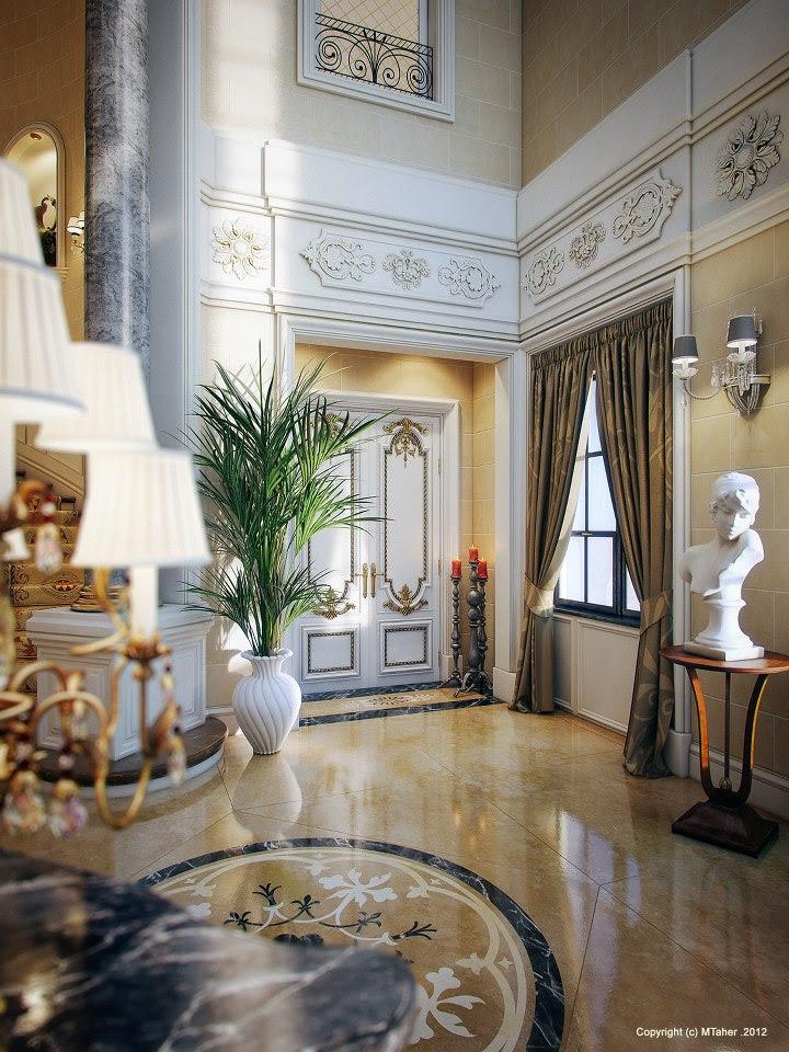 Luxury Villa in Qatar [Visualized] - Bazlamit Interior Design Qatar, Interior Design Solutions Qatar, QatarInterior Design, Interior