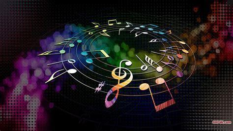 Couleurs composer notes de musique de musique multicolore