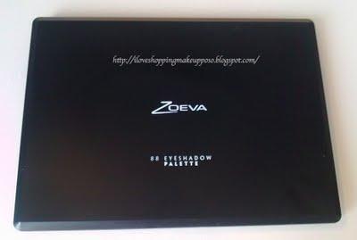 Zoeva - Palette 88 colori (ultra shimmer e matt)