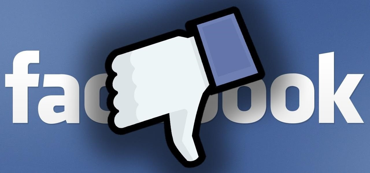 Image result for facebook thumb down