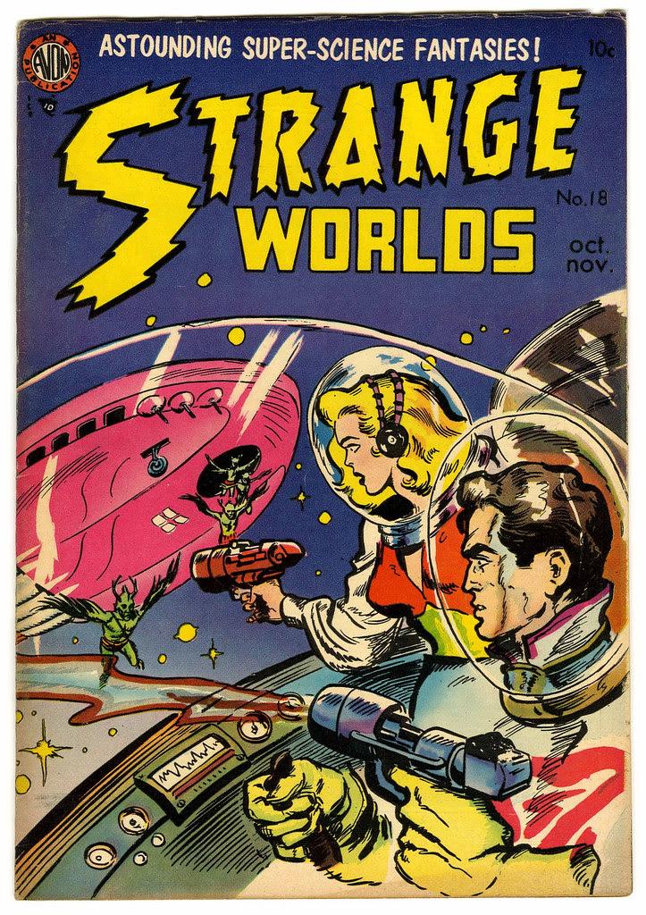 Strange Worlds #18 (Avon)