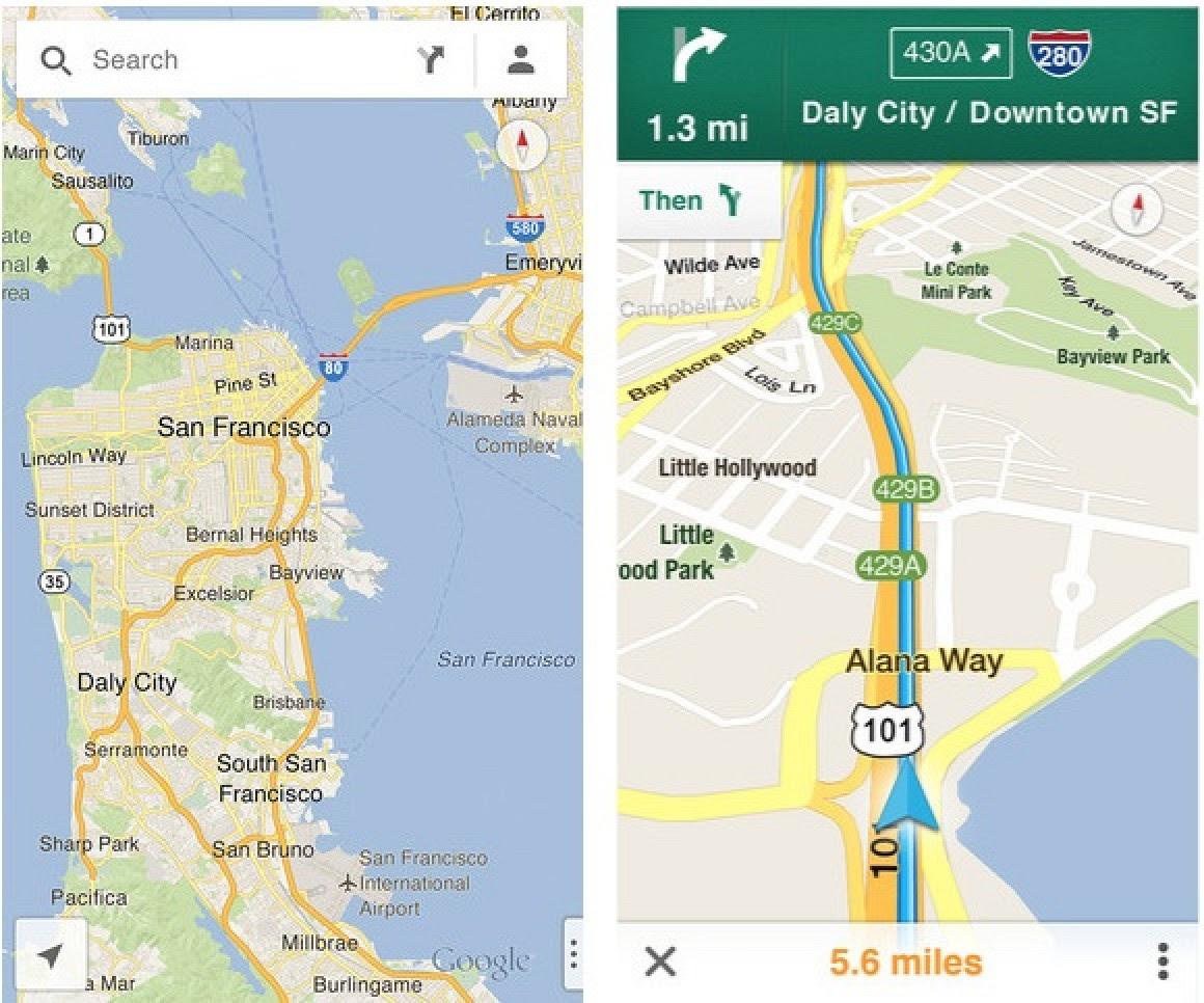 Google Maps For Ios Now Live In App Store Macrumors