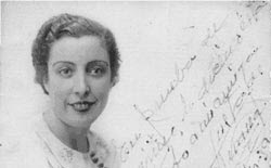 Juana Rodríguez en 1939