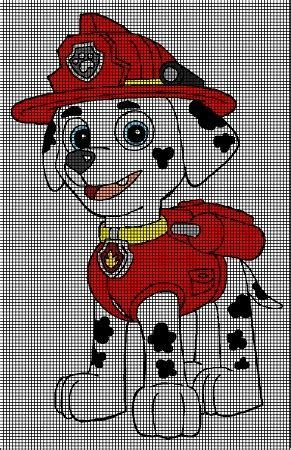 Marshall Stands Tall Crochet Pattern