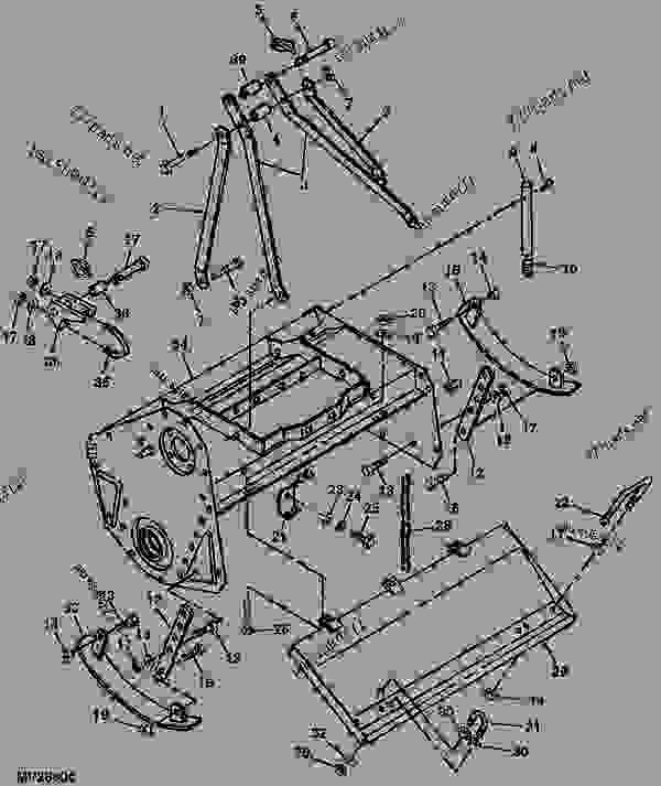 Wiring Diagram Database  John Deere 2210 Parts Diagram