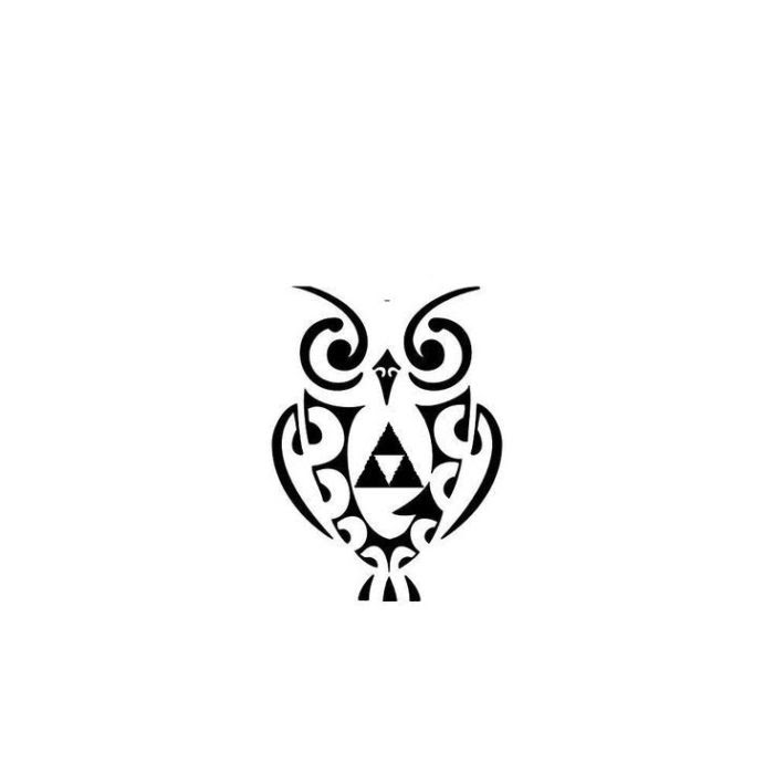 45 Lovely Small Owl Tattoos With New Designs Parryzcom
