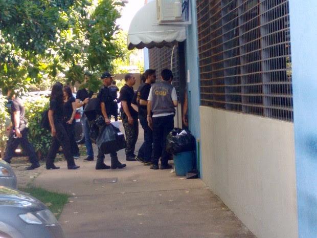 Operação PF (Foto: Zana Ferreira/ G1)