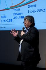 岸上 信彦, 長期運用を実現する NEC の Enterprise Java, JK1-01 Strategy Keynote, JavaOne Tokyo 2012
