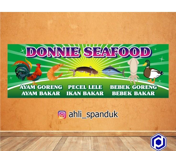 Desain Banner Makanan Simple - gambar spanduk