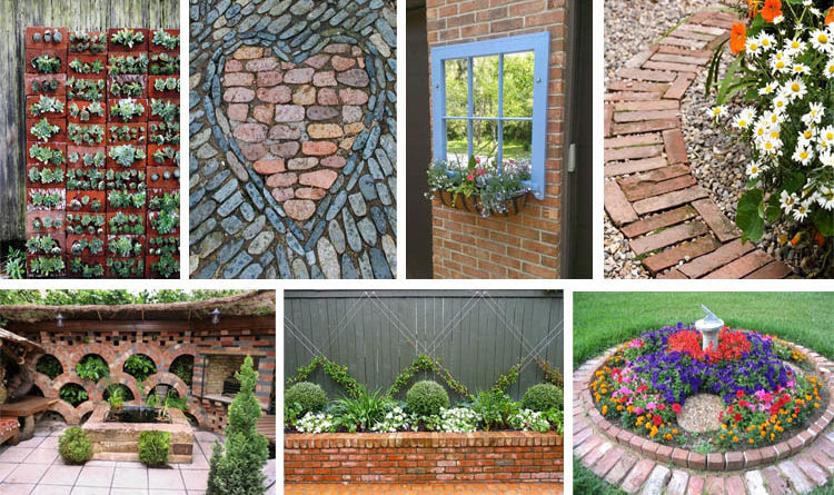 Brilliant Diy Garden Decor Ideas With Old Bricks To Save