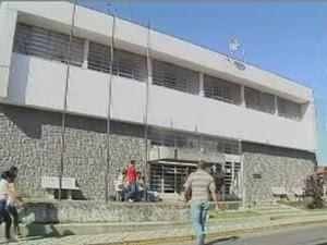 Polícia Civil de Caçapava (Foto: Reprodução/ TV Vanguarda)