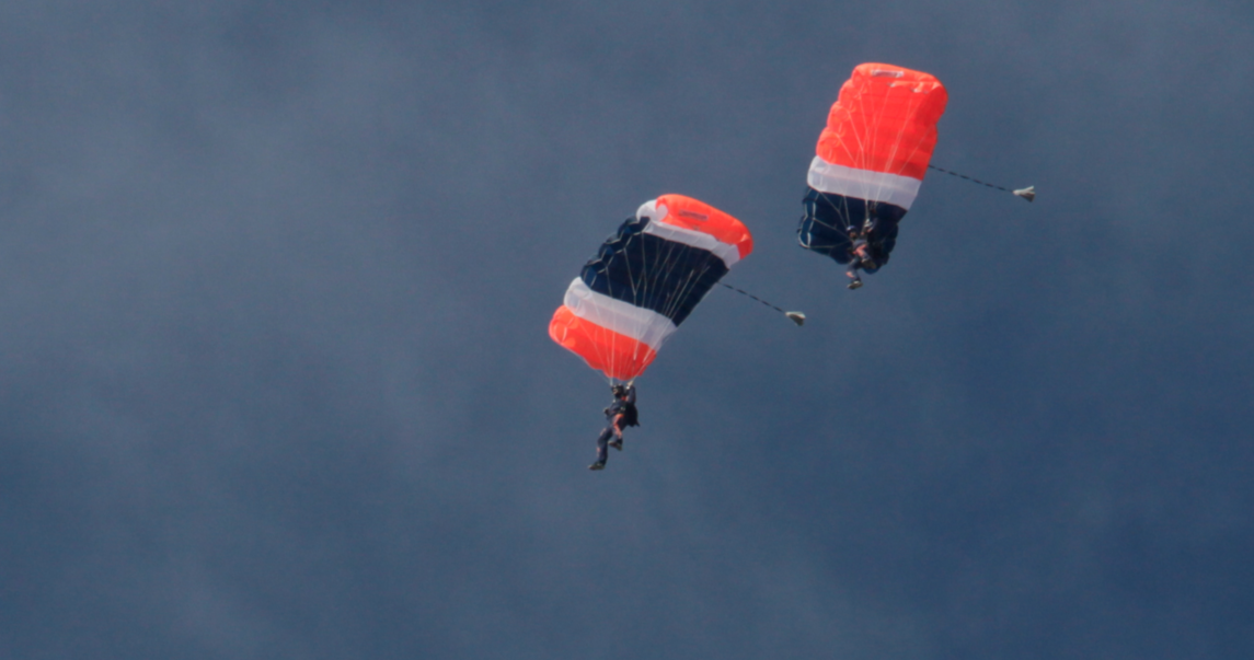 Flying Fail: Skydiver Misses Stadium Before College Football Game