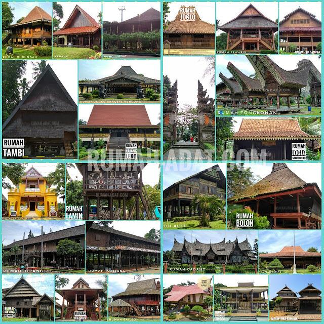 74 Koleksi Gambar Gambar Rumah Adat Dan Daerah Asalnya HD Terbaru