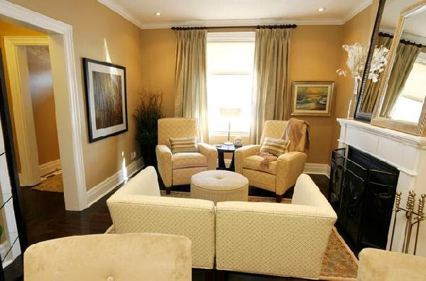 Living Rooms Yellow Walls - Home Decoration Ideas