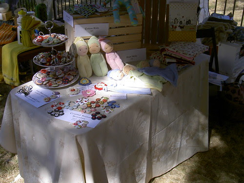 Market stall at Manuka Childcare fete