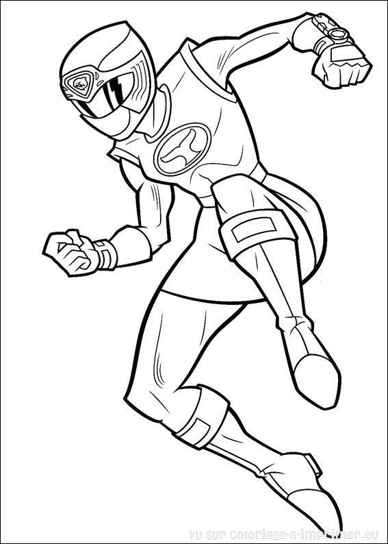 214 Dessins De Coloriage Power Rangers à Imprimer Sur Laguerchecom