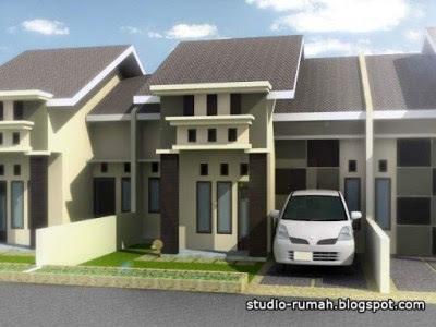 gambar rumah type 21 tampak depan