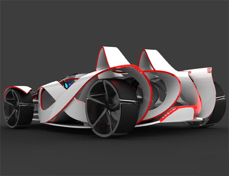 toyota mob race car5 Super Cars of the Future: Inspiring Future thinking in Car Design