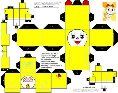 colorful blog cubeecraft doraemon