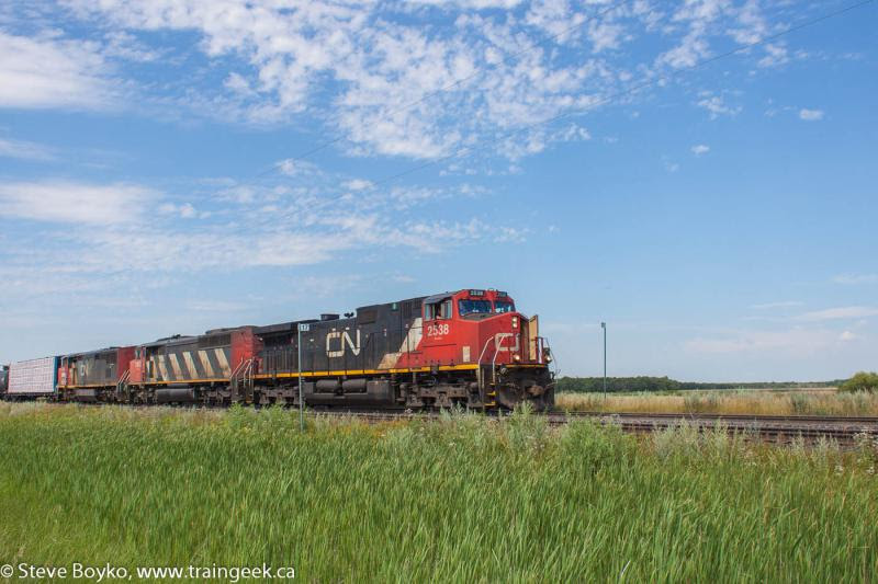 CN 2538 in Winnipeg