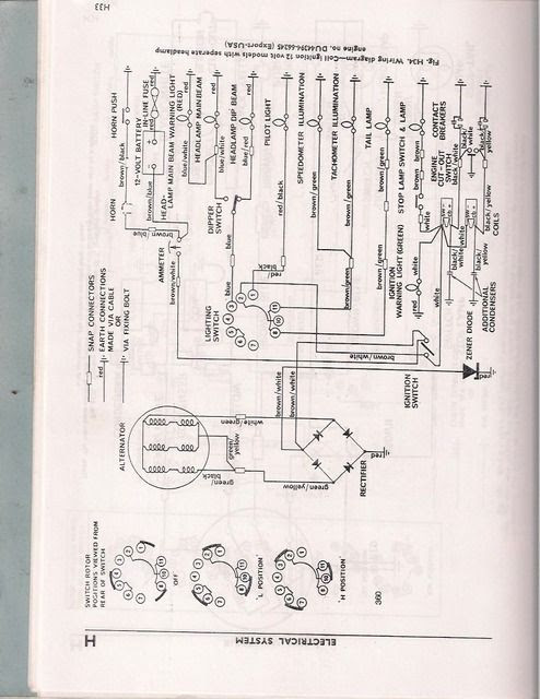 Just Drug Home A 70 Tr6 Need A Wiring Diagram Triumph Rat Motorcycle Forums