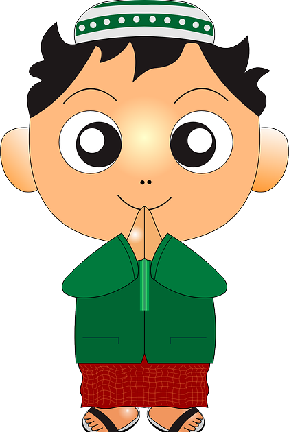 Gambar Animasi Anak Khitanan