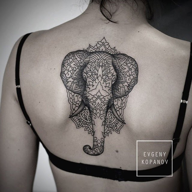 Elephant Mandala Tattoo Best Tattoo Design Ideas