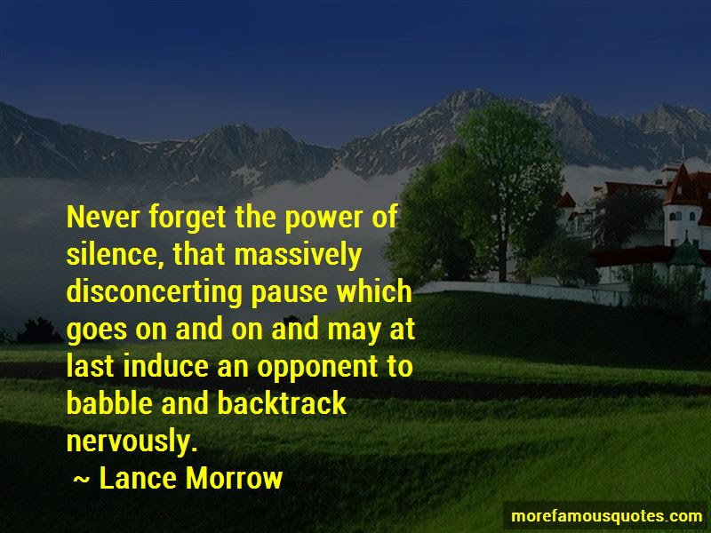 Power Of Silence Quotes Top 39 Quotes About Power Of Silence From