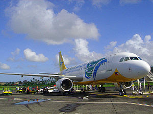 Cebu Pacific domestic flight