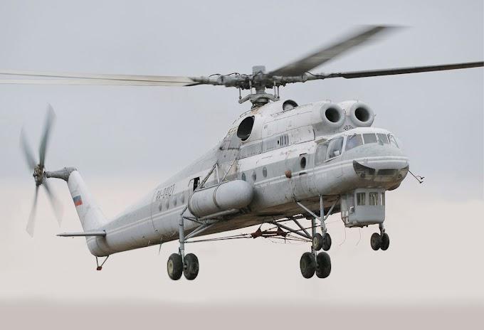 Conheça o guindaste voador Mil Mi-10