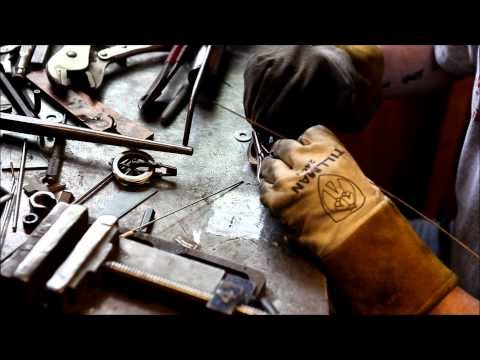 Rusty Knuckles Motors And Music For True Grit Characters Rock N Roll Country Metal Punk Rock Brown Dog Welding Process Video