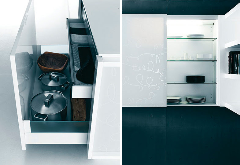 Modern Pure White Kitchen Cabinets and Accessories – Yara from ...