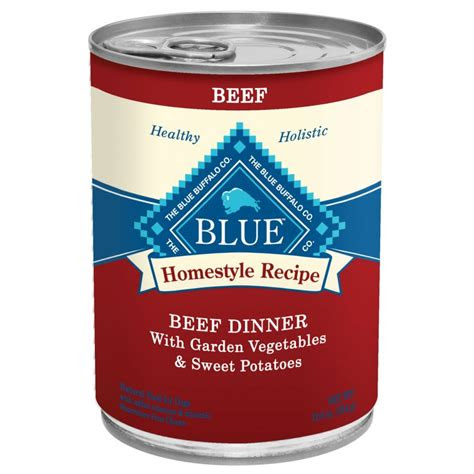blue buffalo homestyle recipe beef dinner canned dog
