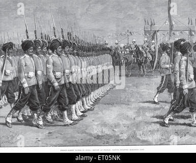 Image result for 1889 Prince Albert Victor India Poona{POONA/PUNE} Native Infantry
